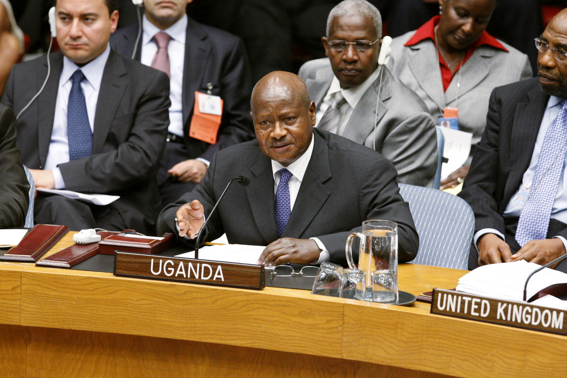 President of Uganda Addresses Security Council Summit