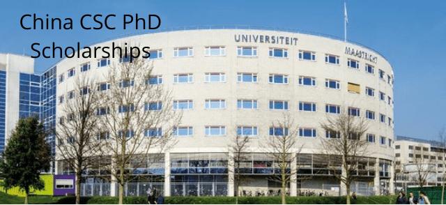 China CSC PhD Scholarships