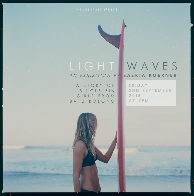 Light waves batu bolong photography exhibition Saskia Koerner