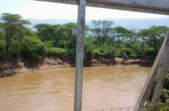 High siltation in Kerio River