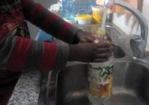 wash the bottle