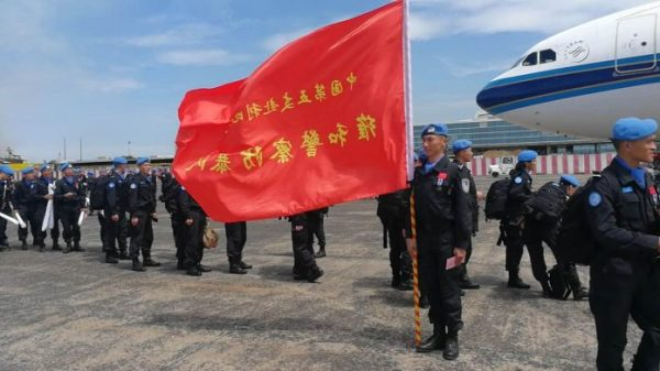 Reporter's Diary: Chinese Peacekeeping Unit Leaves Liberia ...