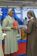 voeux soeur Yvette à Yaoundé