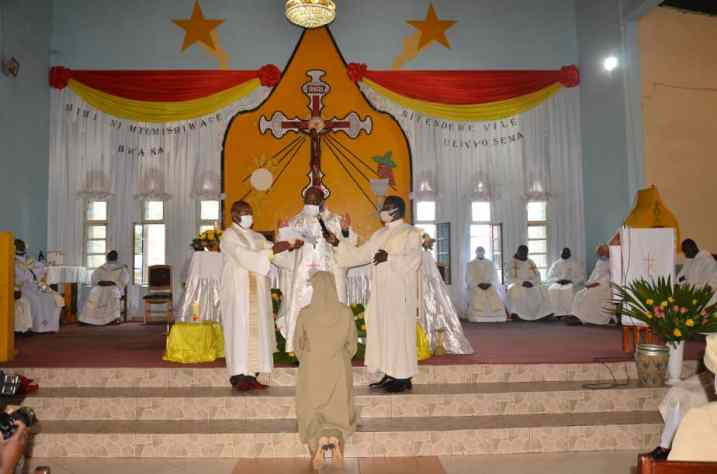 voeux soeur Marie Reine à Goma