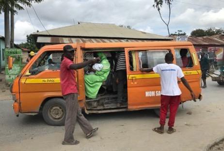 Matatu, Mombasa, Kenya