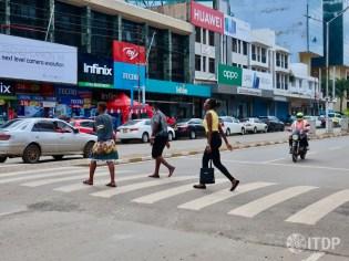 Kisumu pedestrian crossing