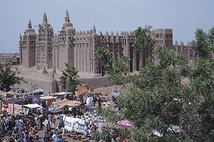 Mali Empire And Djenne Figures