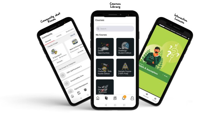 africa 1k challenge mobile app