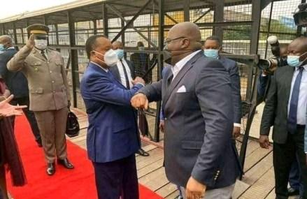 RDC: Félix Tshisekedi séjourne à Brazzaville