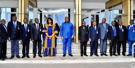 RDC-Grève à l'UNIKIN et UPN : Félix Tshisekedi échange avec les délégués des professeurs
