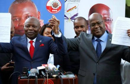 RDC-Union sacrée: UNC rappelle à Tshisekedi «l'accord de Nairobi» qui faisait de Vital Kamerhe premier ministre