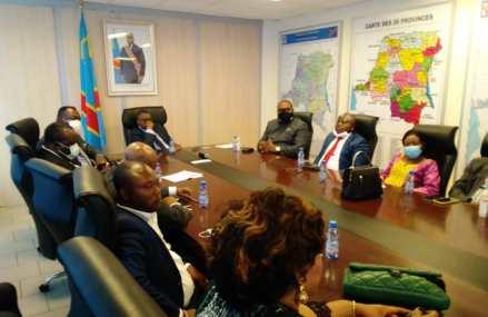 RDC : Le développement du Grand Kasaï au centre des échanges entre Alexandre Kayembe et les députés et sénateurs