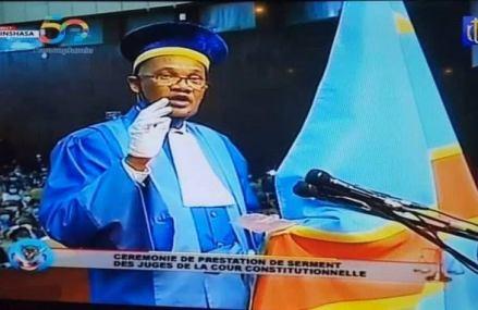 RDC : Dieudonné Kaluba, investi président de la Cour constitutionnelle