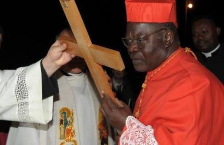 RDC : le cardinal Monsengwo inhumé à la cathédrale Notre Dame du Congo