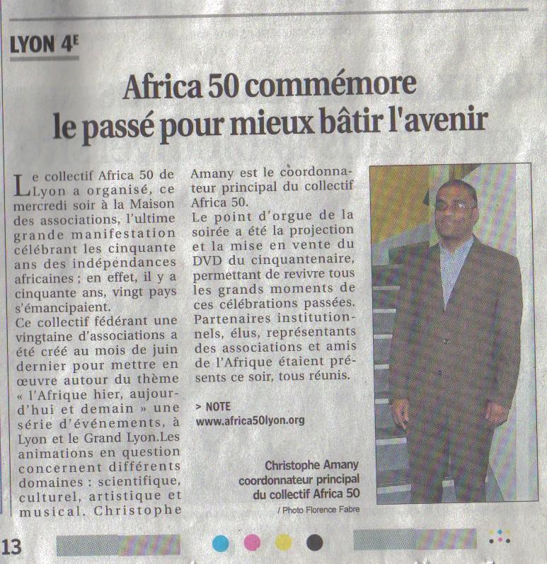 """""""Africa 50 commémore le passé pour mieux bâtir l'avenir"""""""