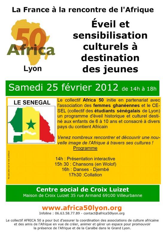 Sensibilisation culturelles vers les jeunes – Sénégal