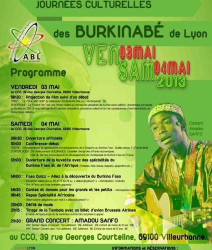 9e édition des journées culturelles des burkinabé à Lyon