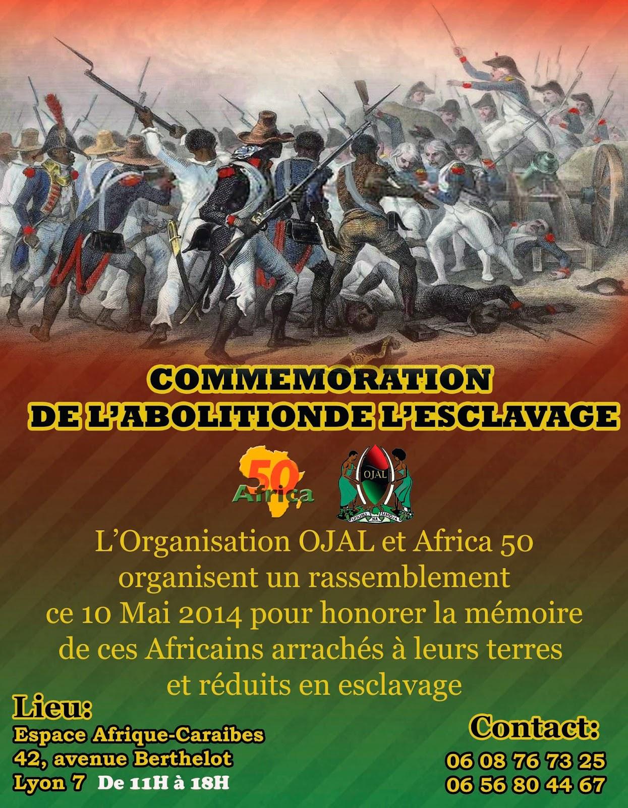 """""""Commémoration de l'abolition de l'esclavage : """"Ce n'est pas de la repentance"""""""