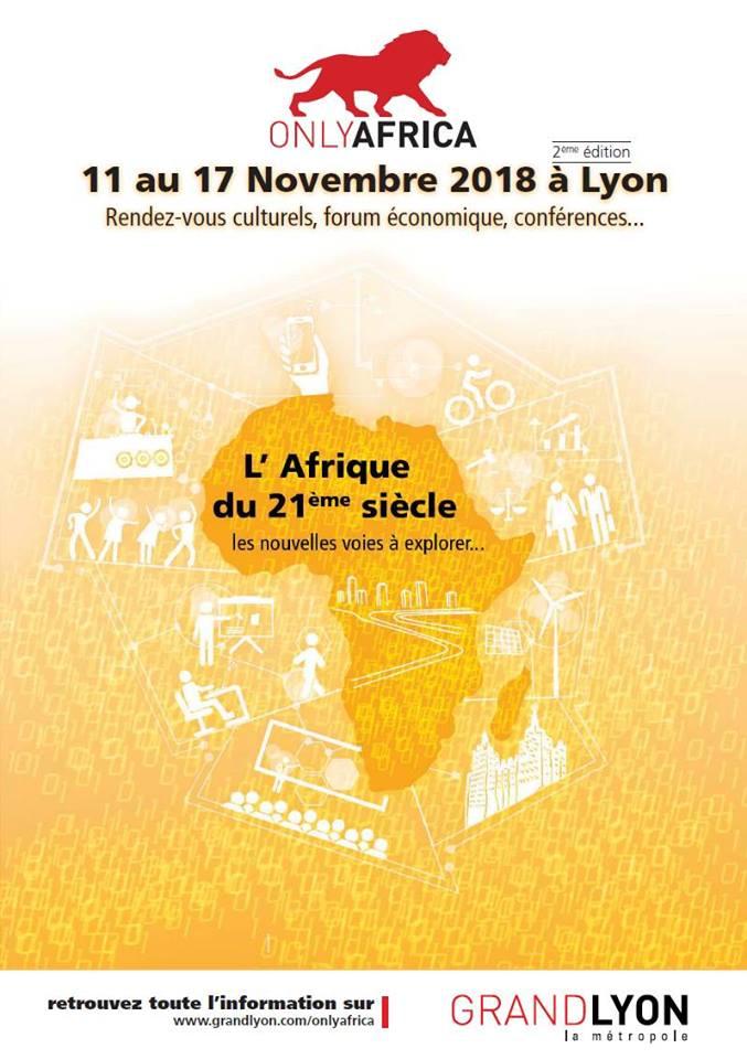 [ONLYAFRICA] Programme d'ONLYAFRICA 2018