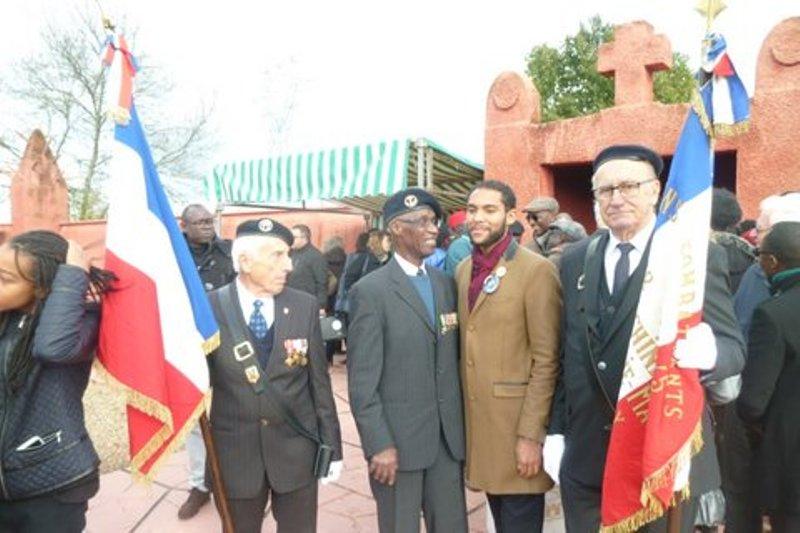 [CHASSELAY 2016] Hommages rendus ce 11 novembre aux Tirailleurs Africains morts héroïquement à la bataille de Chasselay pour la défense de Lyon contre l'avancée des troupes allemandes