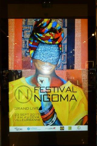 NGOMA : LES ARTS AFRICAINS bien présent aux Galeries LAFAYETTE DE la Part-Dieu