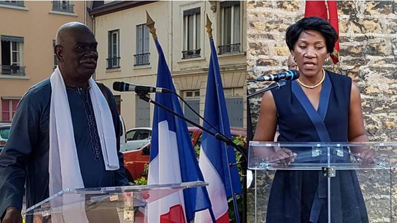 [MEMOIRE] Retour en images sur l'hommage rendu ce 18 juin 2018 à Balmont (Lyon 9e) aux Tirailleurs Africains fusillés par les nazis en juin 1940