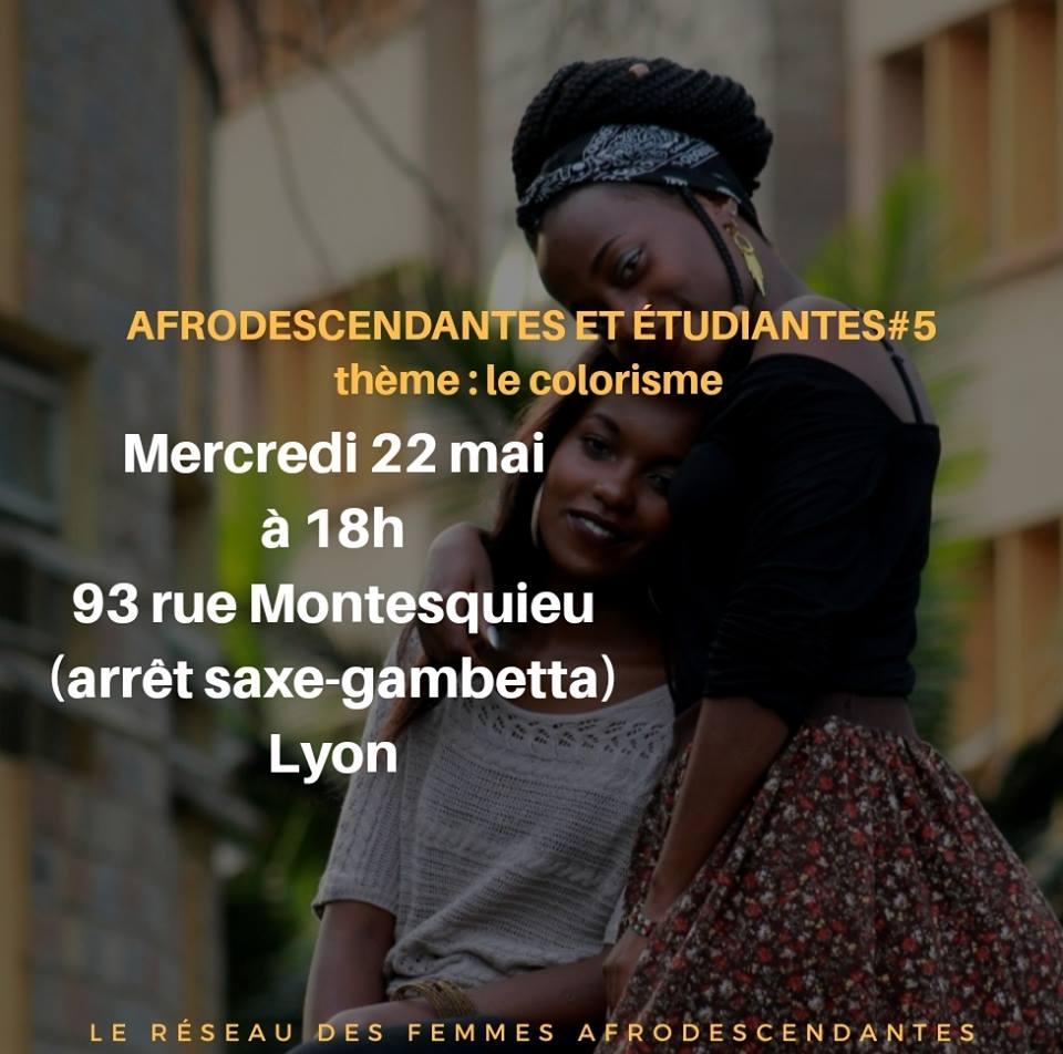 """[ENTRE FEMMES] LRFA présente Sistas to sistas #5 spécial """"Le Colorisme"""" Mercredi 22 mai 2019 à Lyon"""