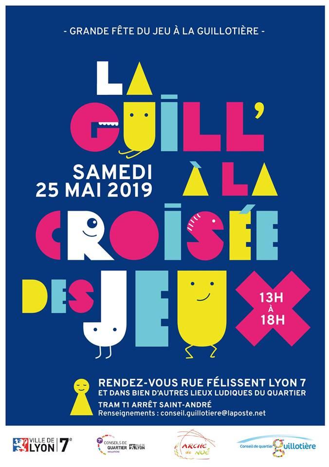 """[LYON 7e] Africa 50 présentera le jeu AWALE lors de """"La Guill' à la croisée des jeux"""" samedi 25 mai 2019"""