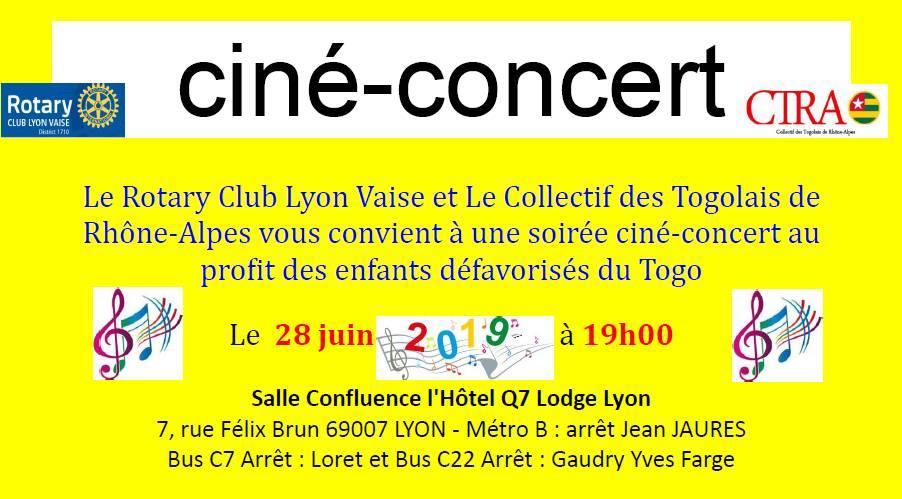 [TOGO] Le Rotary et le CTRA organisent un concert caritatif au profit des enfants défavorisés au Togo le 28 juin à Lyon