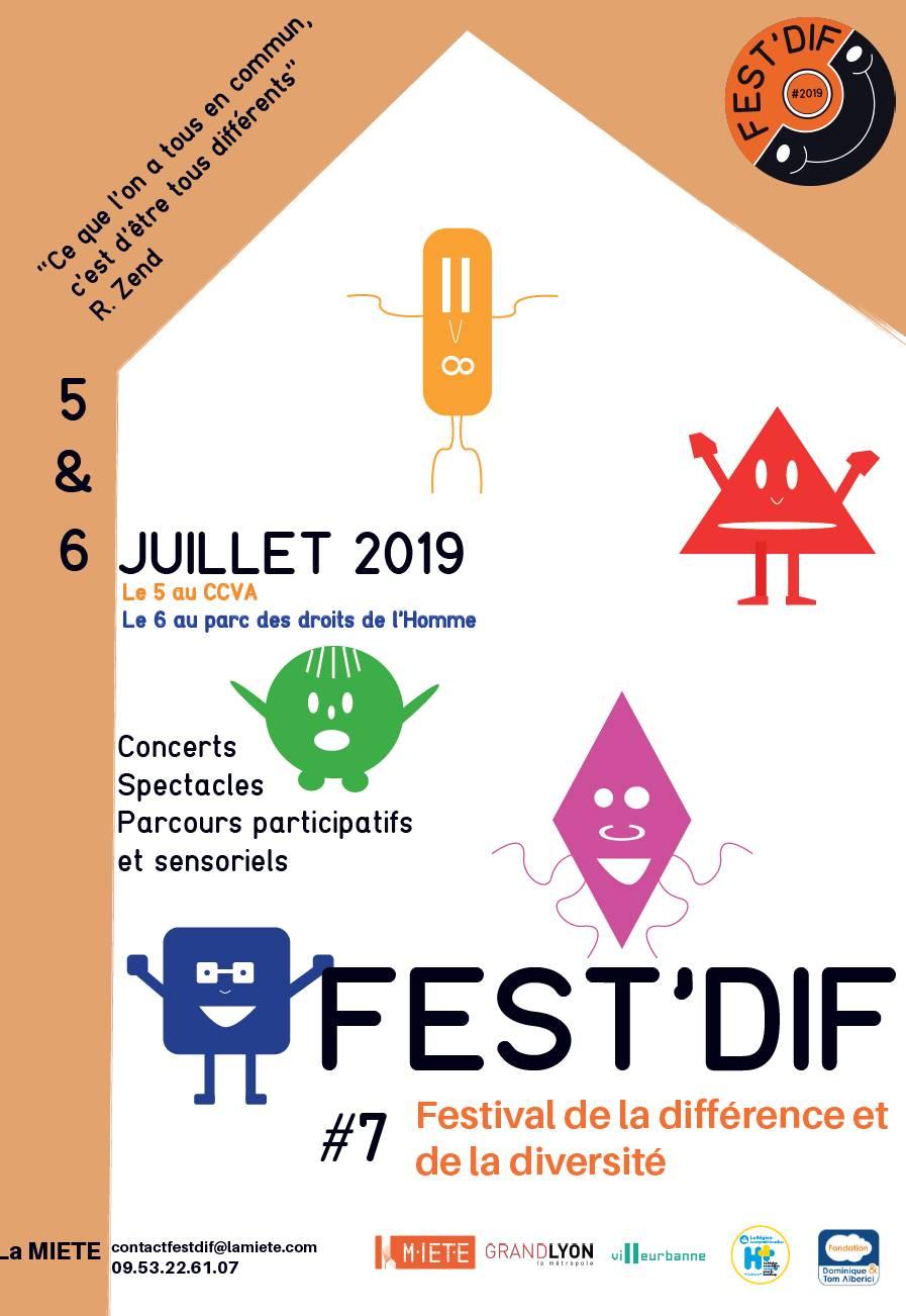 [DIVERSITE] L'Amitié Franco-Éthiopienne participe au Fest'dif (Festival de la Diversité) à Villeurbanne samedi 6 juillet 2019