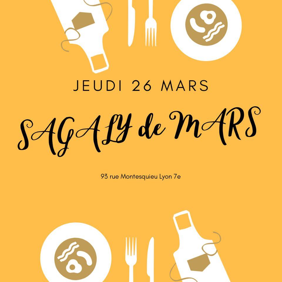 [CUISINE] Sagaly Mars : Spécial Afro burgers Jeudi 26 mars 2020 à Lyon