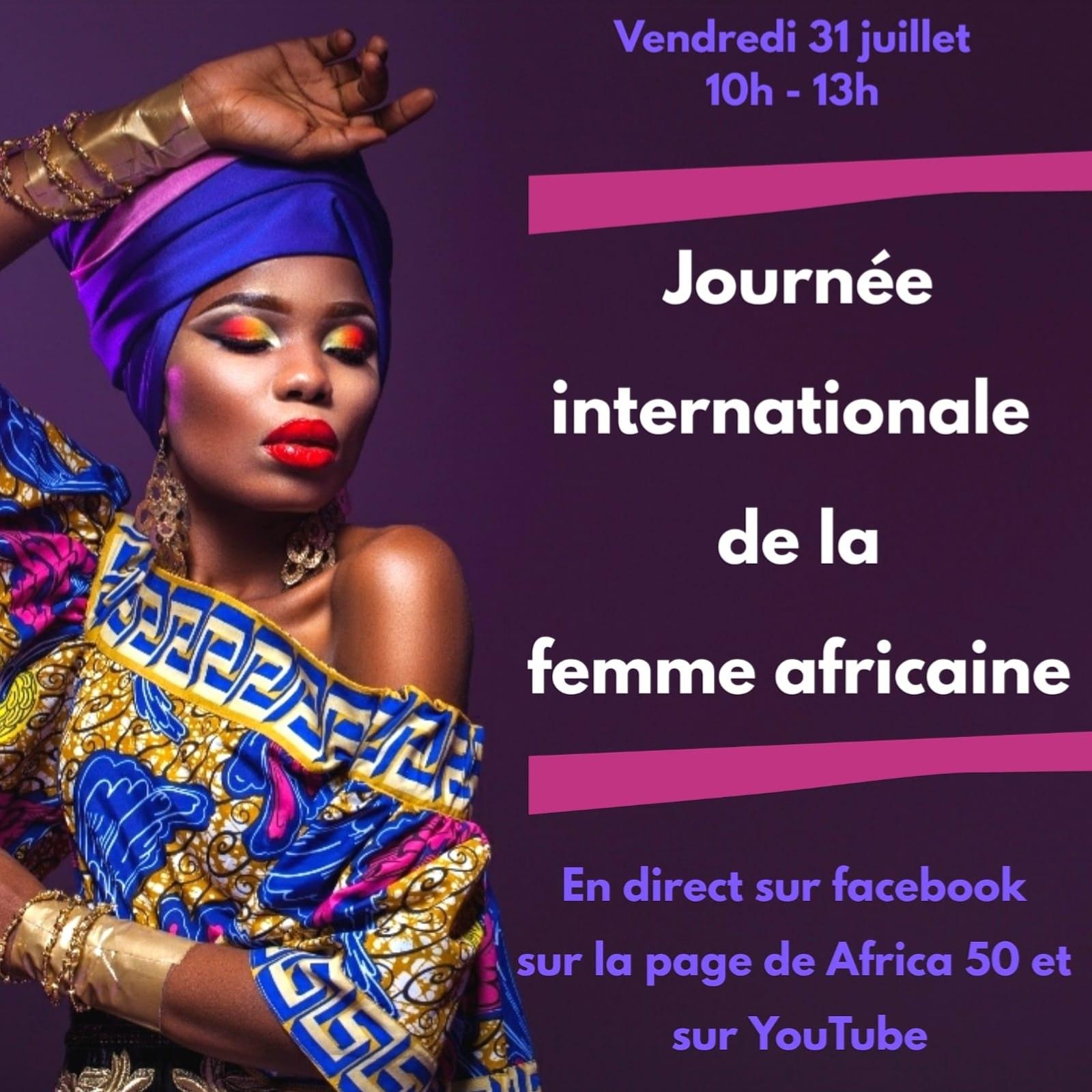[FEMMES] Visio-Conférence : Journée Internationale de la Femme Africaine Vendredi 31 juillet 2020