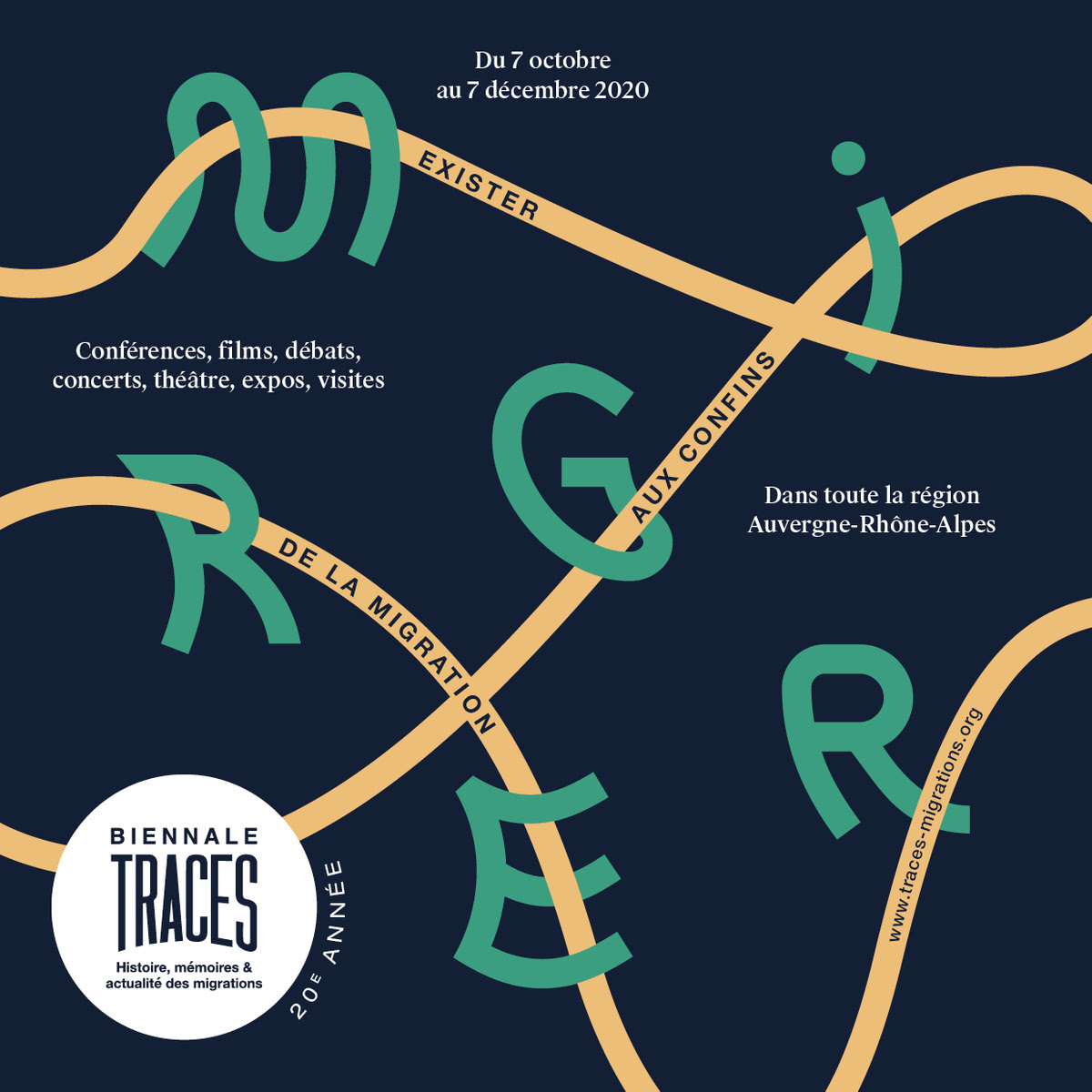 [MIGRATION] 20e anniversaire de la Biennale TRACES jusqu'au 7 décembre 2020 en Auvergne Rhône-Alpes – Africa 50 partenaire