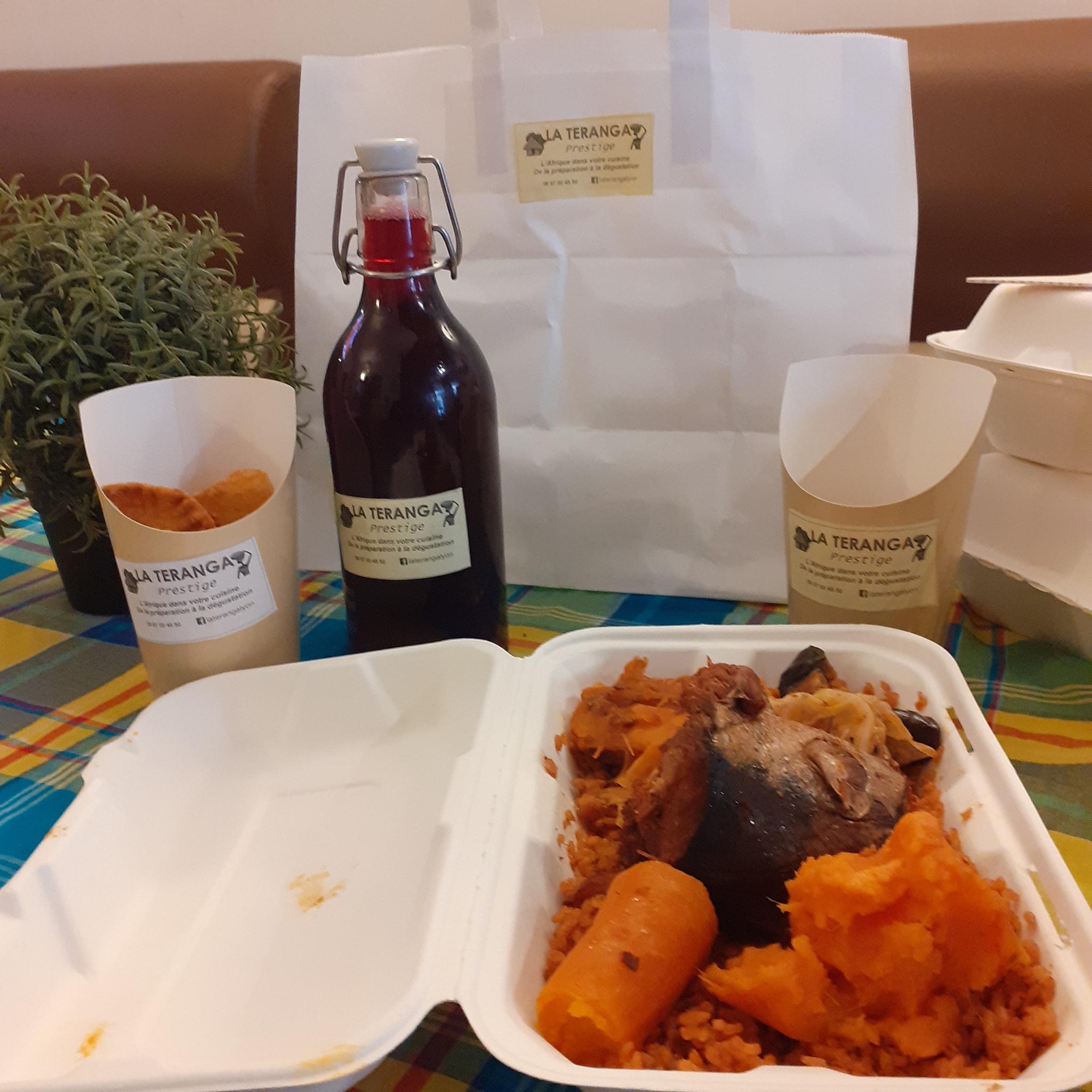 [LA BOX DU WEEK-END] Tous les samedis Tchep poulet ou poisson, pastels, jus de bissap ou gingembre à emporter à Lyon 7e