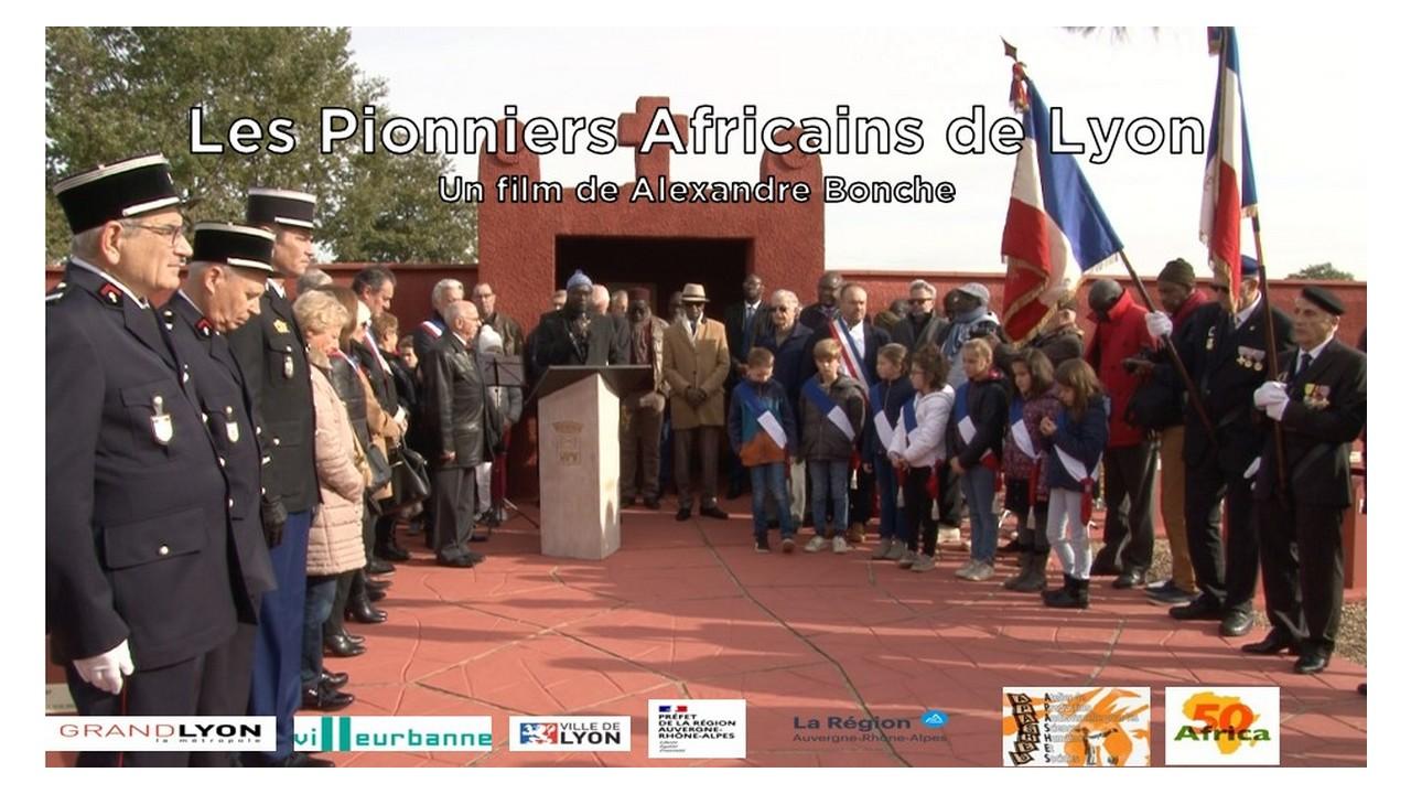 """[CINEMA] """"Les Pionniers Africains de Lyon"""" d'Alexandre BONCHE sur TV5 Afrique lundi 17 mai 2021 à 15h25"""