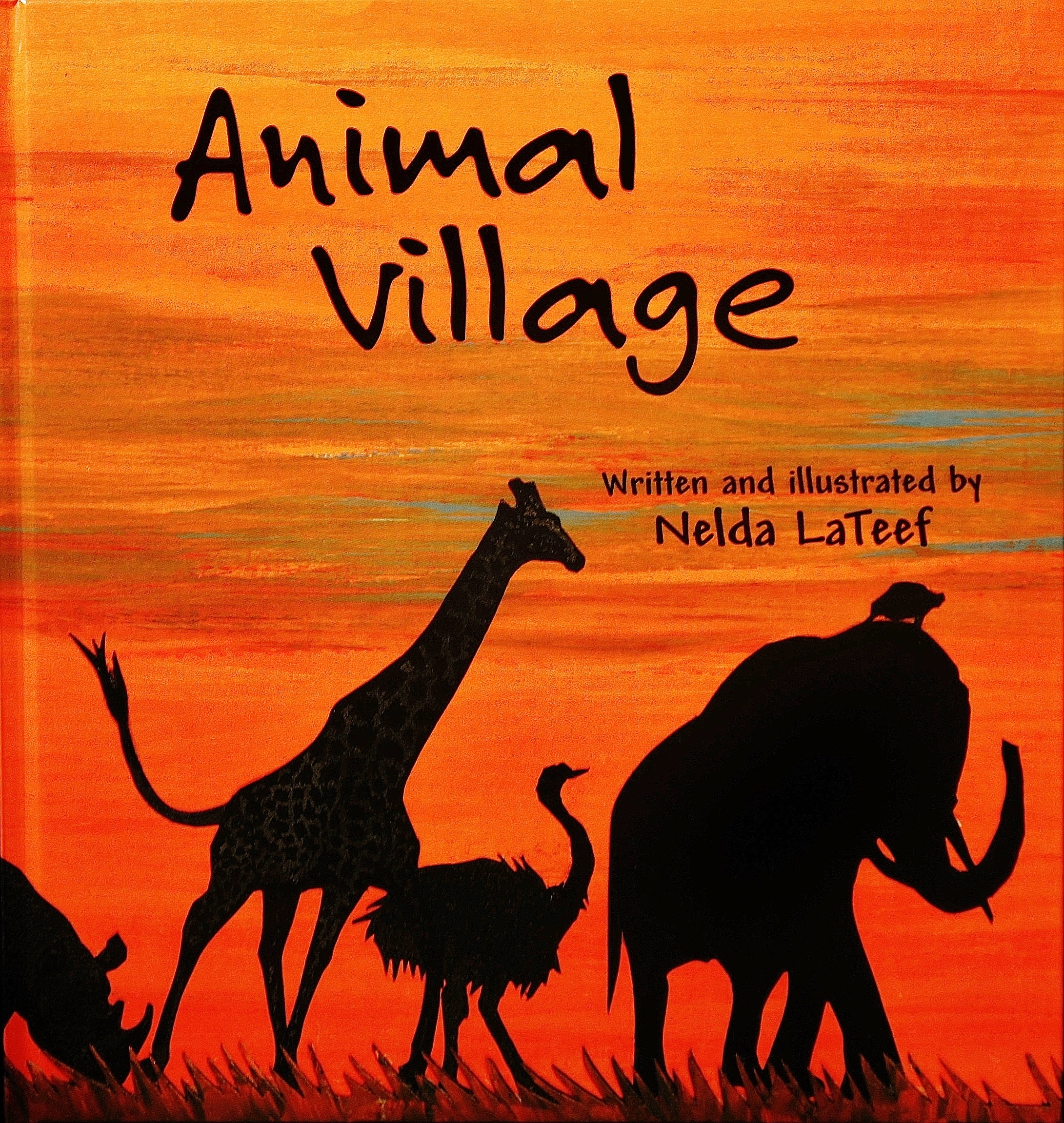 Animal Village Book Cover