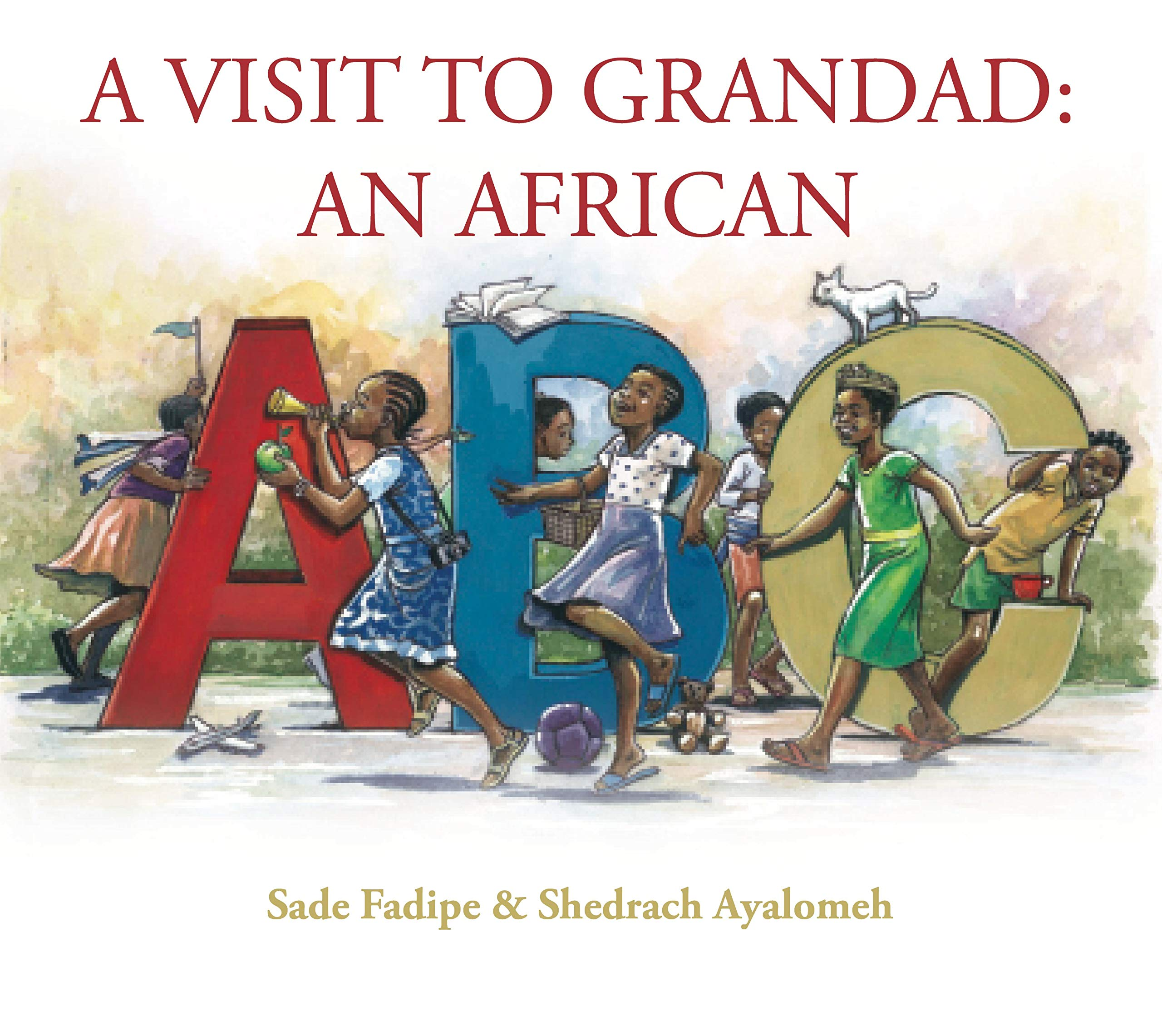 A Visit to Grandad: An African ABC Book Cover