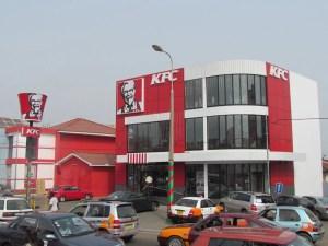 A KFC restaurant in Accra, Ghana