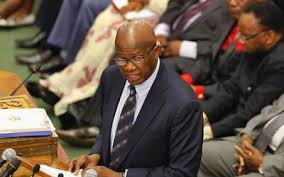Finance minister Patrick Chinamasa: the aid marks a significant step towards improving ties
