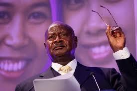 Ugandan President Yoweri Museveni
