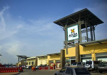 Accra Shopping Mall: In almost all markets the demand for high-quality retail, office and industrial space continues to outstrip supply