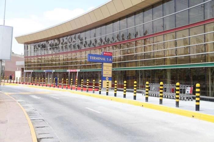 The new Terminal 1A at Jomo Kenyatta airport