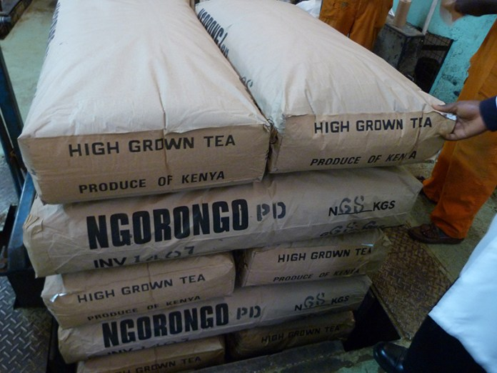 Kenya is the world's leading exporter of black tea
