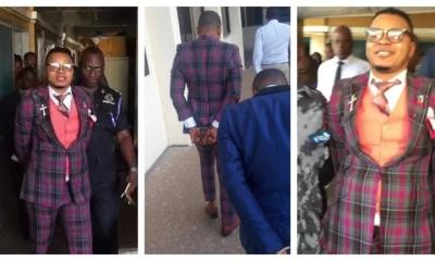 Angel Obinim in police custody