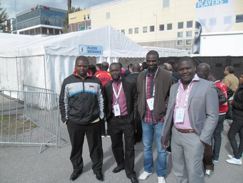 Some of the Zambian Chess Players
