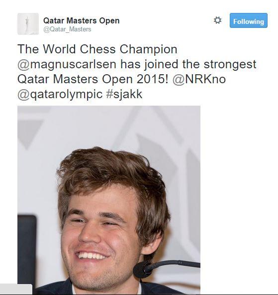 Magnus Carlsen 2015