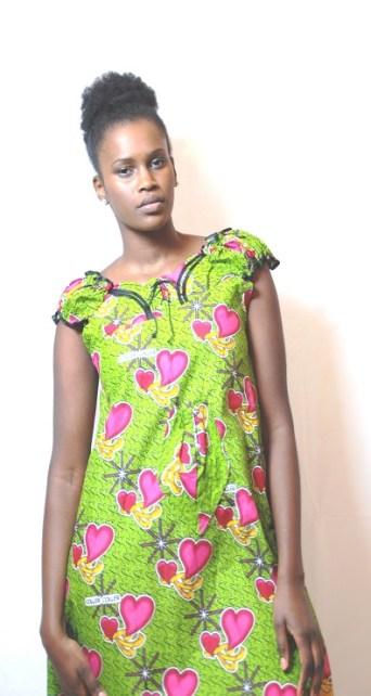 green dress africadada