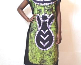 my green dada african woman