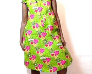dress avion african fabrics