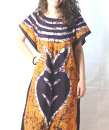 Orange dress africadada